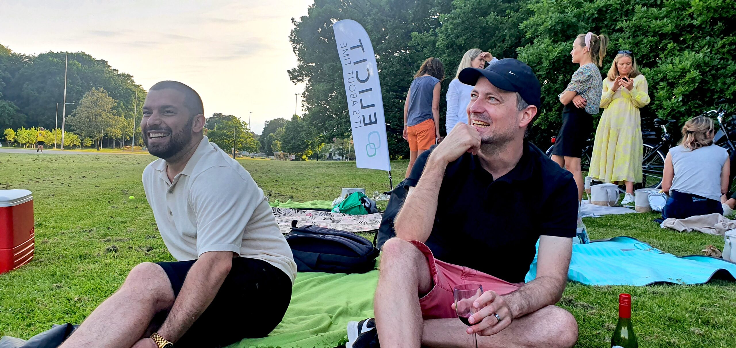 sommarfest hos Elicit